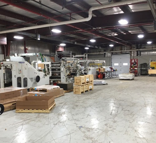 Manufacturing Facility Lighting Applications