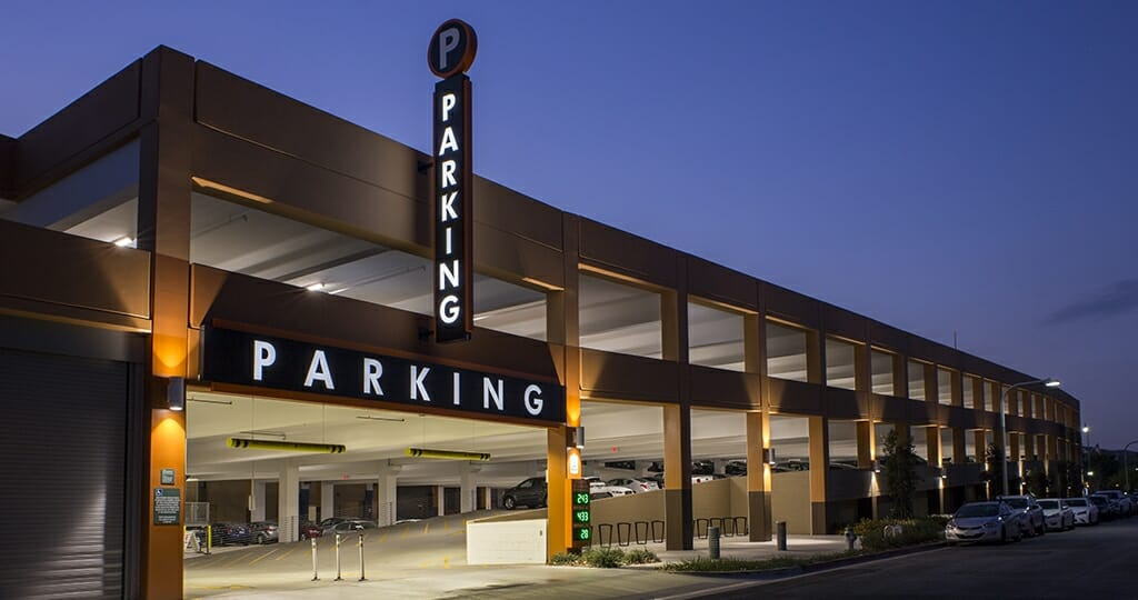 Parking Structure Brea Ca Fsc Lighting Go Beyond