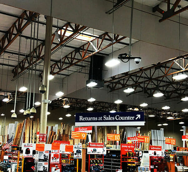 Lumber Company Lighting Applications